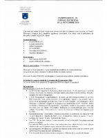 Compte rendu du Conseil municipal du 21 novembre 2016