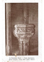 Font baptismal offert par Henri IV