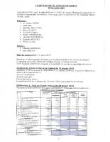 Compte rendu du Conseil Municipal du 06 avril 2019