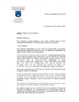 lettre aux habitants réponse aux doléance