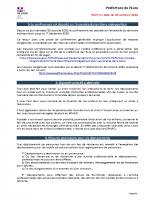 2020-10-30 – Document Pref27 aux maires – Confinement
