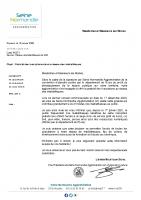 courrier_maires gratuité inscriptions réseau médiathèques