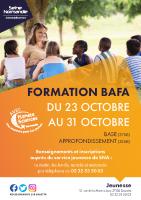 Affiche Formation BAFA Toussaint 2021